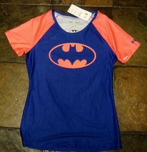 Womens Under Armour Shirt nwt 44.99 Size S Under Armour Bat Girl Shirt