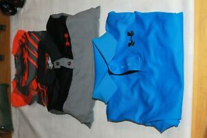Under Armour Youth Lot of 3 (SunshirtPolo) Size Medium