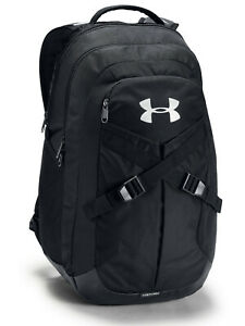 Under Armour Mens Womens UA Recruit 2.0 UA Storm Black Athletic Backpack