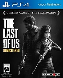 The Last Of Us Remastered Playstation 4 Brand New PS4