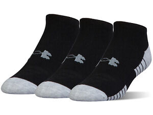 Under Armour Men's Heatgear Tech Athletic No Show Socks 3 Pack $14.99