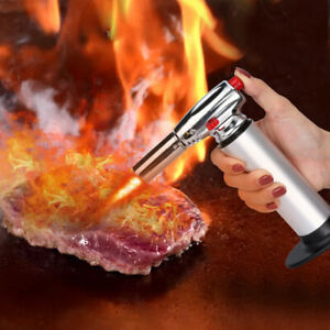 Cooking Torch Chef Lighter Flame Gun Tool Culinary Kitchen Torch Food Burn USA $16.19