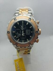 Invicta Reserve 4841 Rose Gold SAS Subaqua Noma Automatic Watch Valjoux 7750 BN