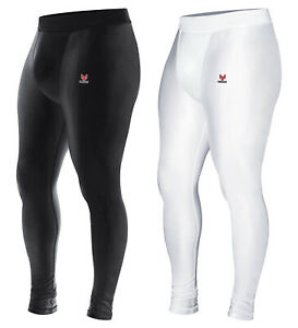 Mens Compression Tights Athletic Base Layers Spandex Sports Long Pants Quick Dry $17.99