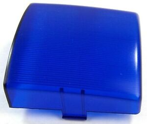 UP Dome Light Lens Square for Peterbilt Blue Plastic 3quot; Two Tab #30830 Each $7.47