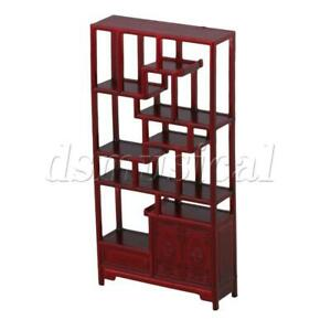 Architectural Model Chinese Style Shelf Furniture Cabinet No. 1 1:25 Red