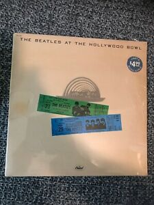 The Beatles Lp SEALED 1977 At The Hollywood Bowl Original Press