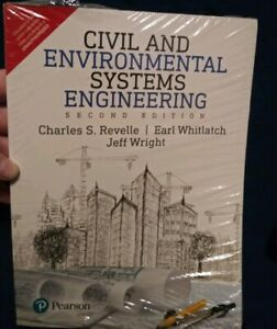 Civil And Environmental Systems Engineering Revelle Whitlatch Wright 2nd... $30.00