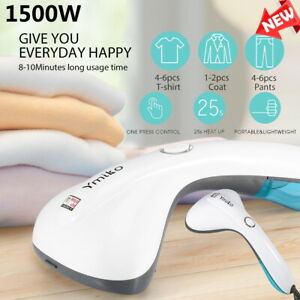 Garment Steamer Handheld Portable Clothes Wrinkle Remover Steam 25S Fast Heat US