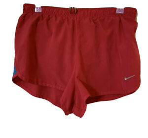 Nike Dri fit Shorts Women's Size Small Solid Pink Blue Running Shorts $8.00