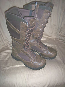 Mens Snake Proof Boots Goretex Boots Leather Boots Danner Hunting Boots Size 12