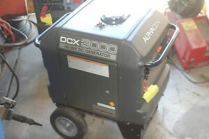 ALPHA GEN PORTABLE GENERATOR DCX3000 HONDA EU3000IS DC OUTPUT