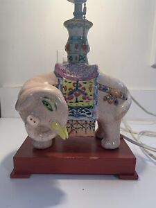 chinese antique porcelain lamp $169.00