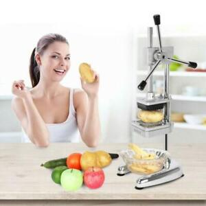 HOT Potato French Fry Fruit Vegetable Cutter Slicer Cutting 3 Blades ROVSUN