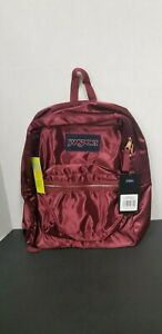 JANSPORT Backpacks HIGH STAKES RUSSET RED ROSE GOLD