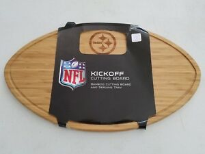 Picnic Time NFL Kickoff Football Cutting Board, Serving Tray   - Free Shipping -