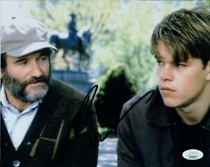 Robin Williams Good Will Hunting Signed 8x10 Glossy Photo JSA Authenticated