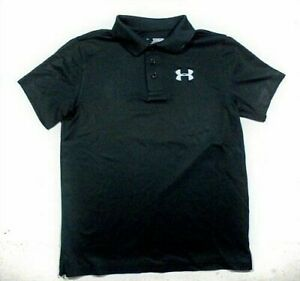 Youth Boys UNDER ARMOUR POLO Shirts All sizes School Casual Play $22.00