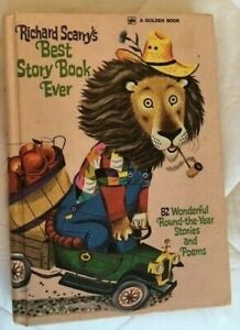 VINTAGE RICHARD SCARRY'S BEST STORY BOOK EVER GOLDEN PRESS NY 1968