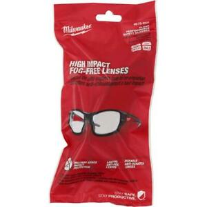 Milwaukee 48 73 2021 Durable Anti Scratch Fog Clear Performance Safety Glasses $19.97