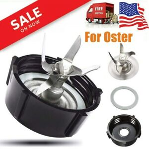 Replacement Parts for Oster Osterizer Blender Cutter Blade Base Cap with Gasket
