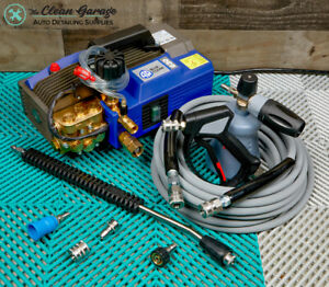 AR Blue Clean AR630TSS Pressure Washer 2.1 GPM Complete Detailing Package MTM