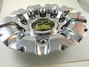 TIS 22 22 TIS TIS CHROME CUSTOM WHEEL CENTER CAP* #TIS 07 FOR 1 CAP