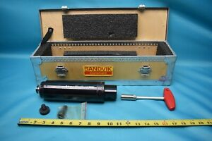 NEW SANDVIK C6 A391.05CD 25 200 CAPTO SILENT TOOLS FACE MILL HOLDER WITH CASE