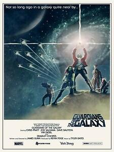 Guardians of The Galaxy Movie Film Poster 18  x 24 Inches Frame Ready