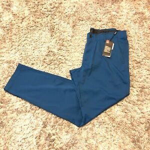 MSRP $79.99 NWT Under Armour Men's Match Tapered Golf Pants Navy Men's SZ 36 34 $34.99