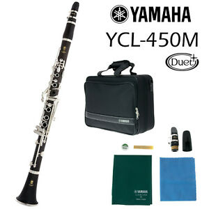 Yamaha YCL-450 M Duet+ Clarinet in Bb  Made in Japan  Free Shipping