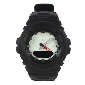 CASIO G-100-1BJF Analog Watch the POOL aoyama G-SHOCK Fragment Design Collab