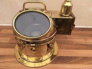 ANTIQUE SHIPS COMPASS. Patt 183 Light brass. boat yacht marine Maritime Nautical GBP 379.00