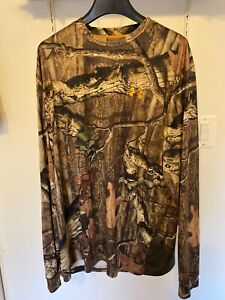Under Armour L Men's HeatGear Break Up Camo Loose Longsleeve Tee T Shirt Large $14.50