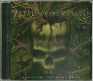 Various Artists : Metal For The Masses CD $5.92