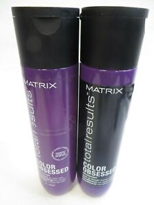 MATRIX TOTAL RESULTS COLOR OBSESSED SHAMPOO amp; CONDITIONER 10.1 oz