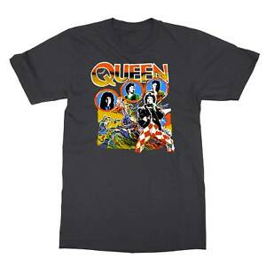 VINTAGE RARE Queen 1978 Tour Band Men#x27;s T Shirt $9.49