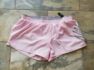 Women's Nike Running Athletic Shorts Lining Pink size XXL 2XL New $29.99