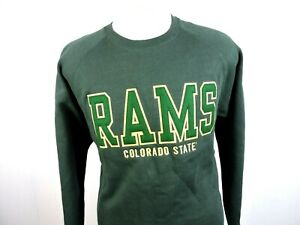 Ouray Mens Green Pullover Sweater Size Large Colorado State Rams quot;JJquot; $19.06