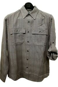 Royal Robbins Teton 72192 Thunder Mens Shirt Relaxed Fit LS Small S New $12.88