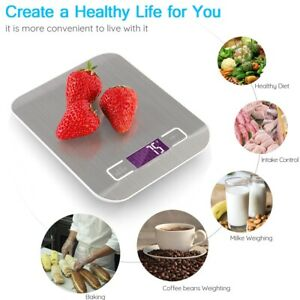 5kg Digitals LCD Electronic Cooking Food Weighing Cute Postal Weight Scales