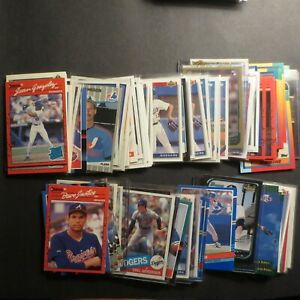 Pick From List: Baseball Rookie Cards and Prospect Cards Mostly Late 1980s 1990s