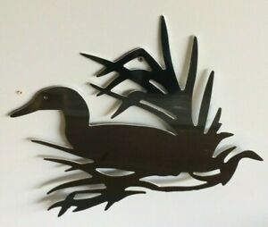 Duck in Grass Aluminum Metal sign 15quot;x12quot; CNC All Weather Indoor Outdoor