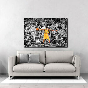 Kobe Bryant Championship Lakers Special, Canvas Wall Art, Printing