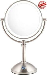 AmnoAmno LED Makeup Mirror-10x Magnifying7.8 Double Sided Lighted c349bb