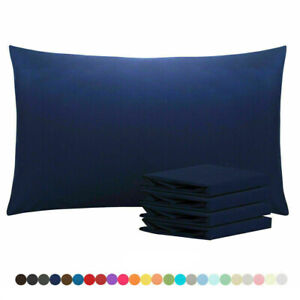 1800 Pillow Case Set Queen Standard Ultra Soft Pillowcase Set of 4 Pillowcases $13.99