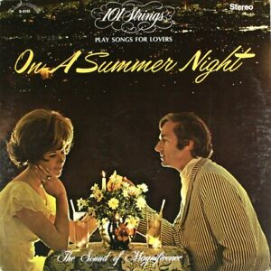 101 Strings: Play Songs for Lovers On a Summer Night LP Vinyl Record Album