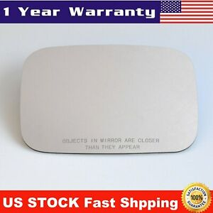 Mirror Glass Passenger Side Right for 2003 2009 HUMMER H2 Replacement Adhesive $15.38