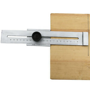 Crossed Square Ruler Woodworking Scribing Gauge Hole Scribe Tools 200mm 300mm $23.15