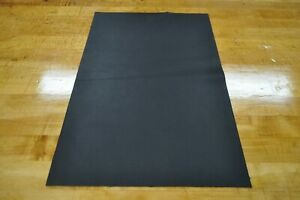 NEW Soft, Thin Black Craft Leather Piece 12 by 18 1.5 square feet